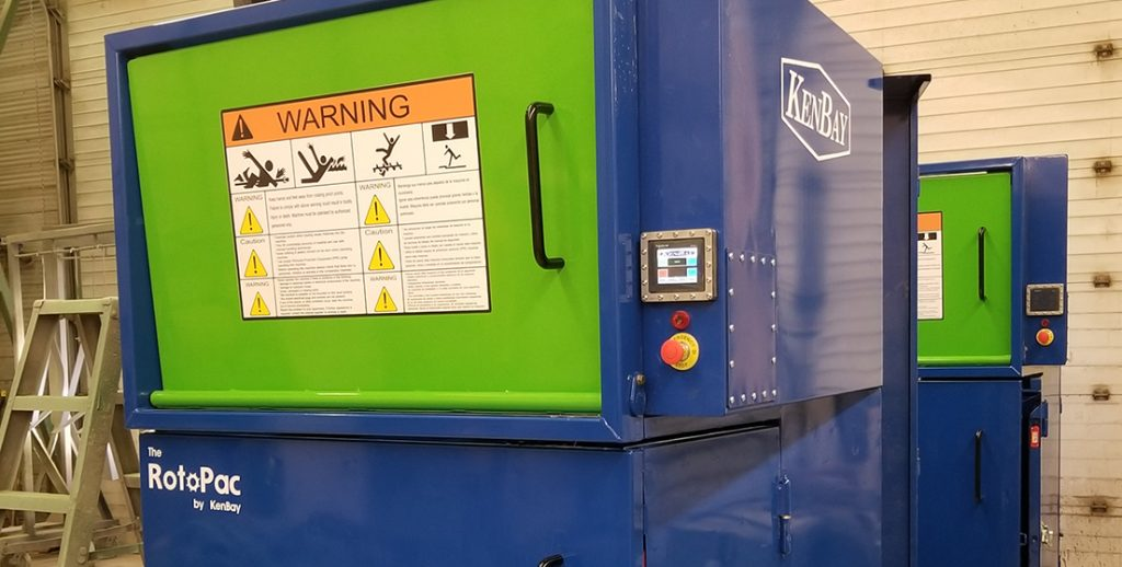 commercial trash compactor Smart RotoPac